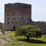 Centralborgen med Manteltårnet og den opprinnelige ringmuren.