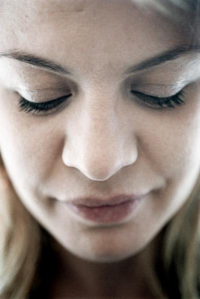 Actress Mille Dinesen - Closeup