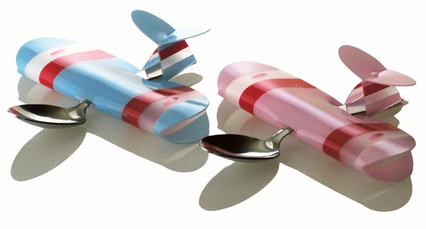 Airplane Spoons for kids