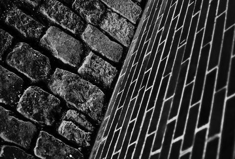 Brosten og mursten - Diagonal