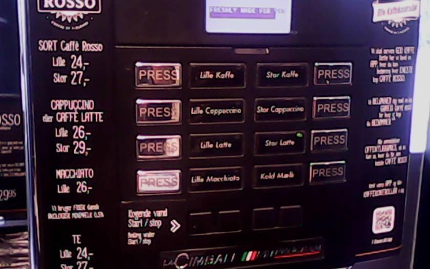 711 coffee machine