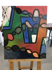 Oil and Gesso: Third phase