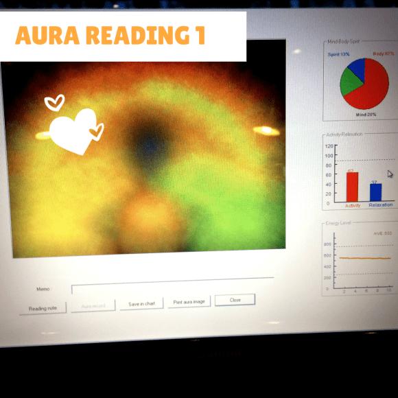 Aura reading 1
