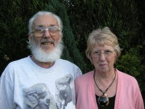 Pat and John Lloyd from Stoke on Trent who were the founding Trustees and original holiday makers