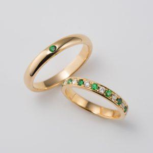 ガーネット 結婚指輪