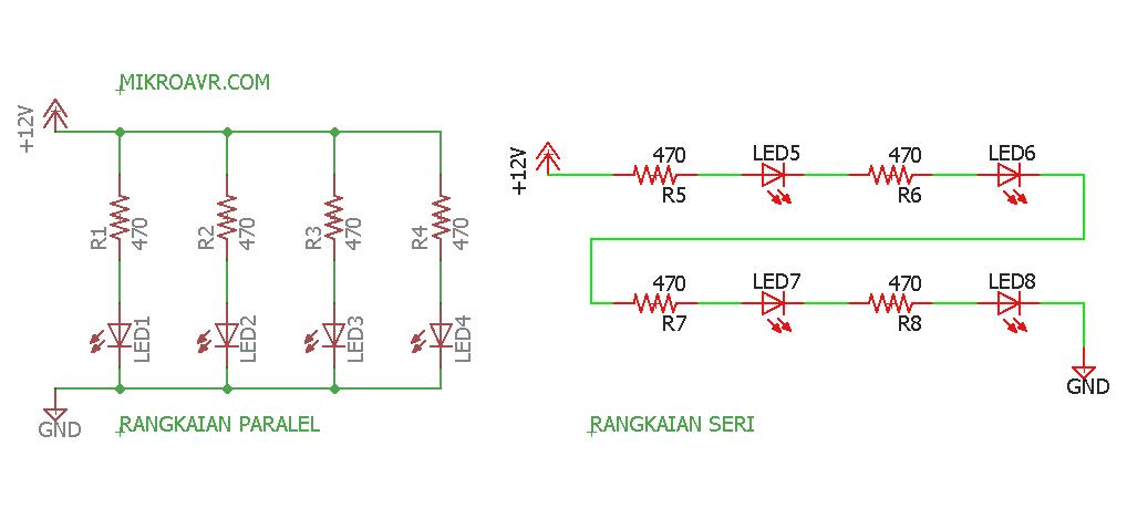 rangkaian paralel dan rangkaian seri