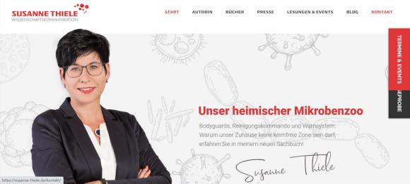 Webseite Susanne Thiele