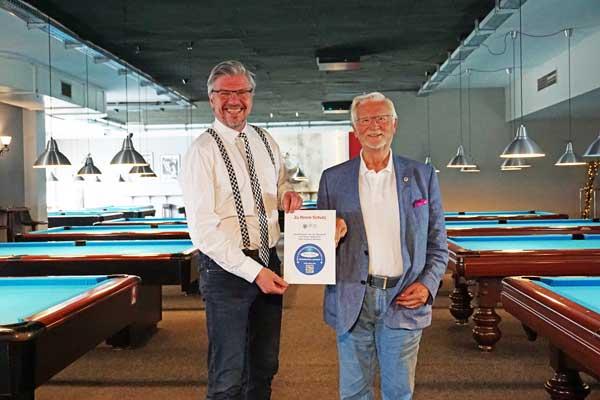 Billard Sport Casino setzt auf ultraviolettes Licht