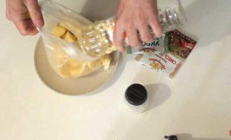 Jak vařit brambory v mikrovlnné troubě v balíčku 3