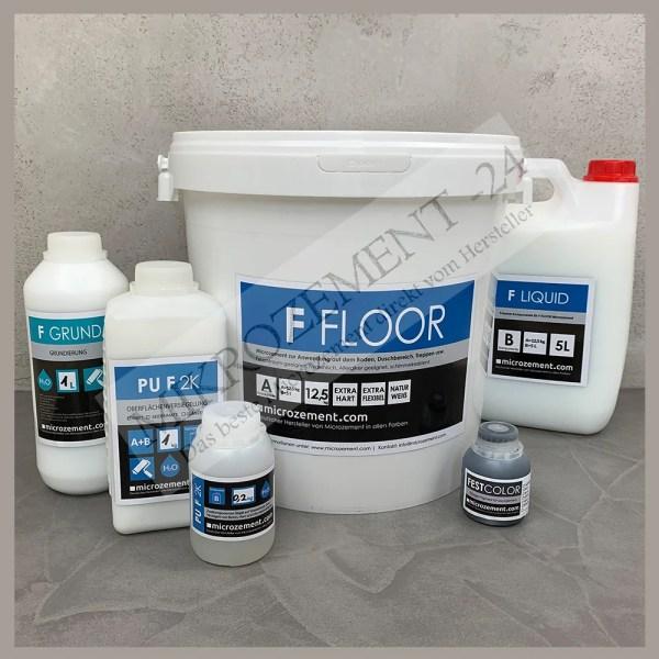 Mikrozement-24_Microzemnt-24.com_Set FFloor Festfloor Bad Dusche Küche Treppe Wand Boden_f-floor gross Set