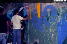 Graffiti Meeting Cristo Rey Summer 2012, Santo Domingo Domincan Republic