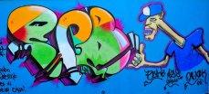 Grafiti Meeting : Club Los Cachorros, Cristo Rey . Hosted by Mikusy Montana
