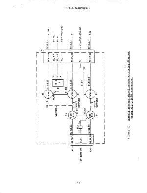 Figure 12 Example synchro signal converter wiring diagram