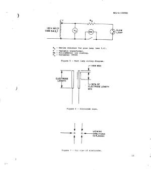 Figure 5  Test Lamp Wiring Diagram