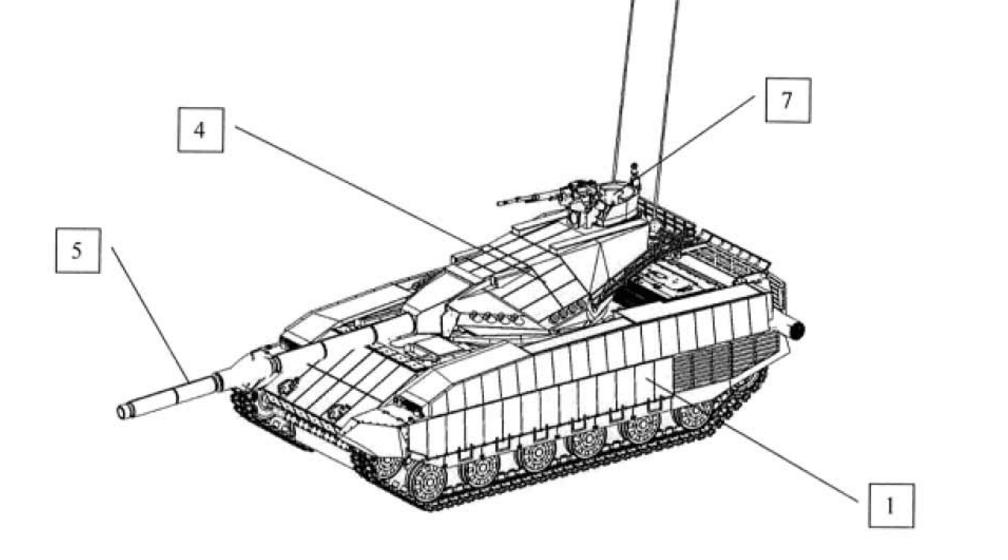 Був опублікований патент на Український танк T-Rex