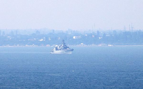 Українські кораблі здійснили перехід до Одеси на Сі Бриз-2012