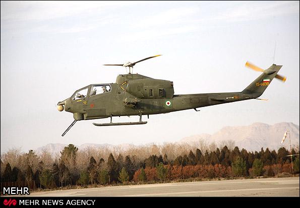 Новий ударний іранський гелікоптер Toufan-2