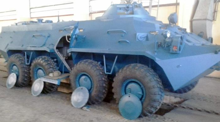 """БТР-3 у """"поліцейському"""" варіанті"""