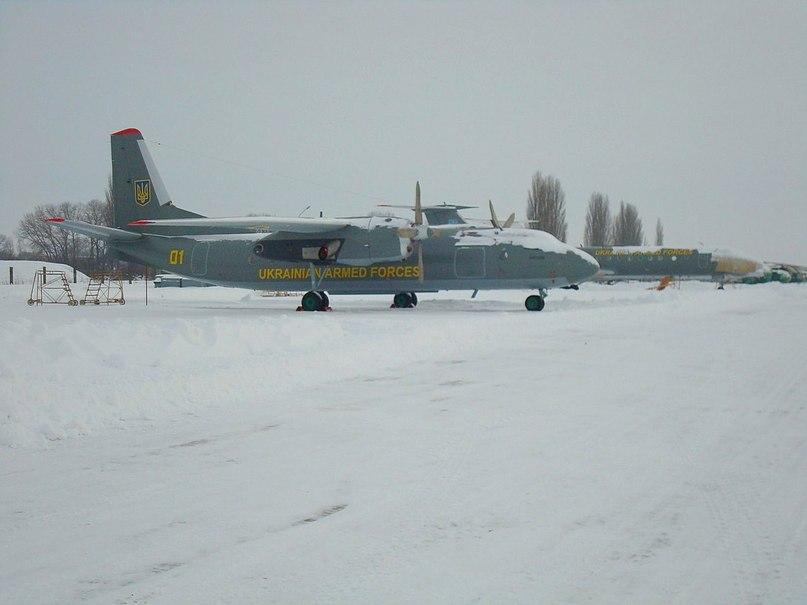 Новий камуфляж Ан-24 ПСУ 15 БрТрА