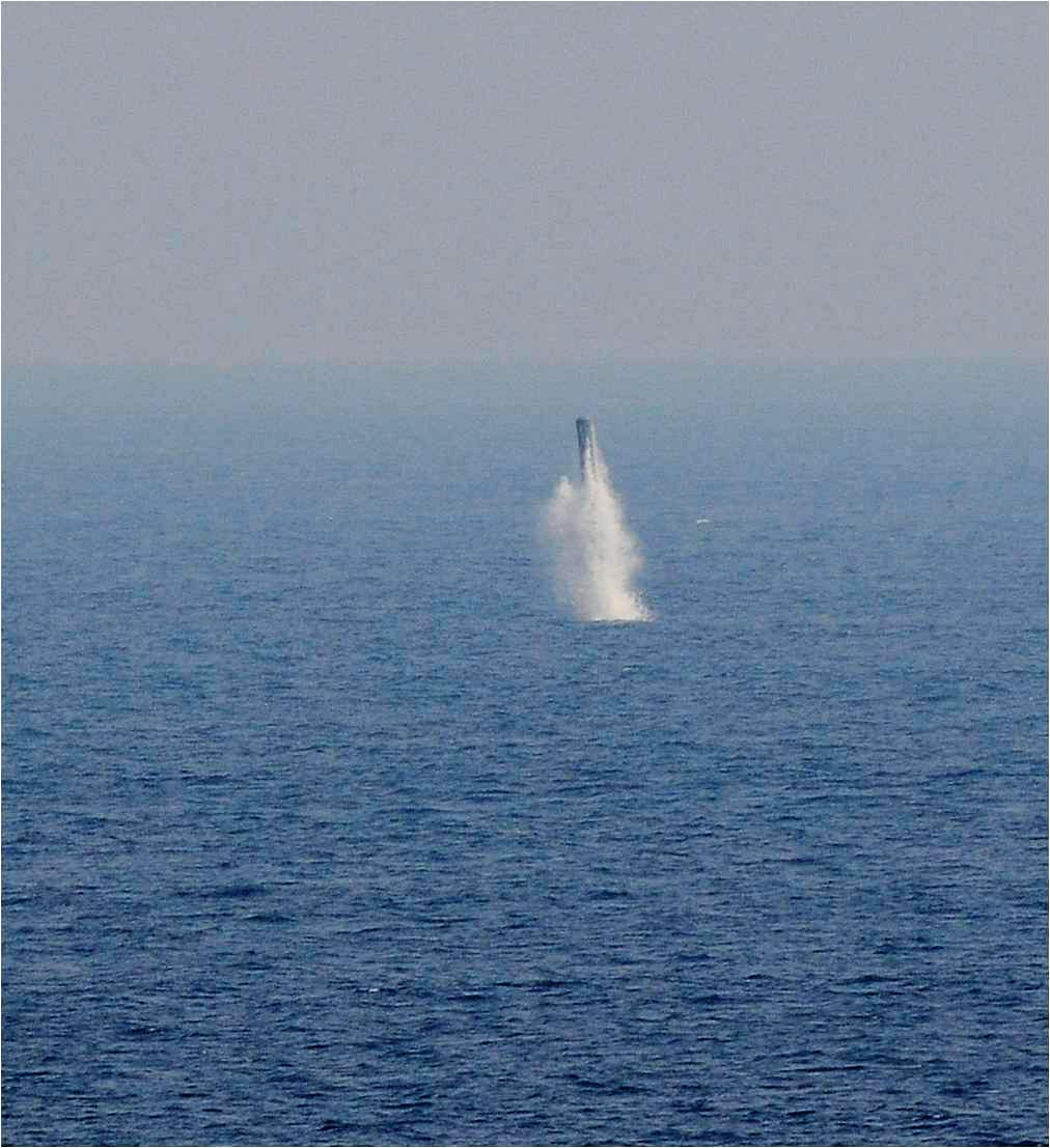 Перший підводний пуск Brahmos