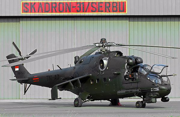 Україна відремонтувала Мі-35 Індонезії