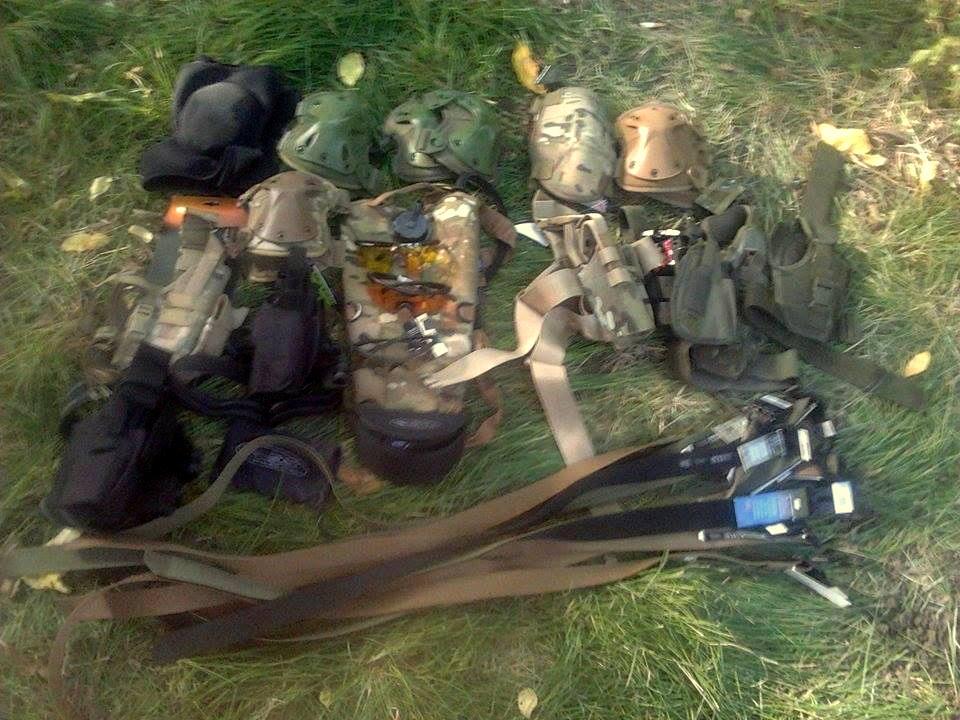 3 полк СпН отримав проміжну передачу спорядження!