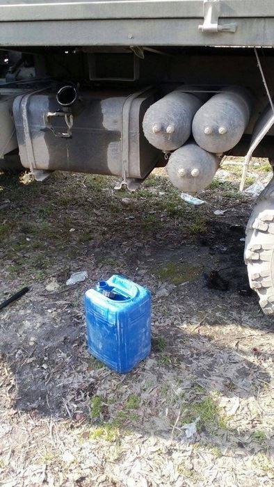 У Тернополі СБУ припинила розкрадання пального з військової частини