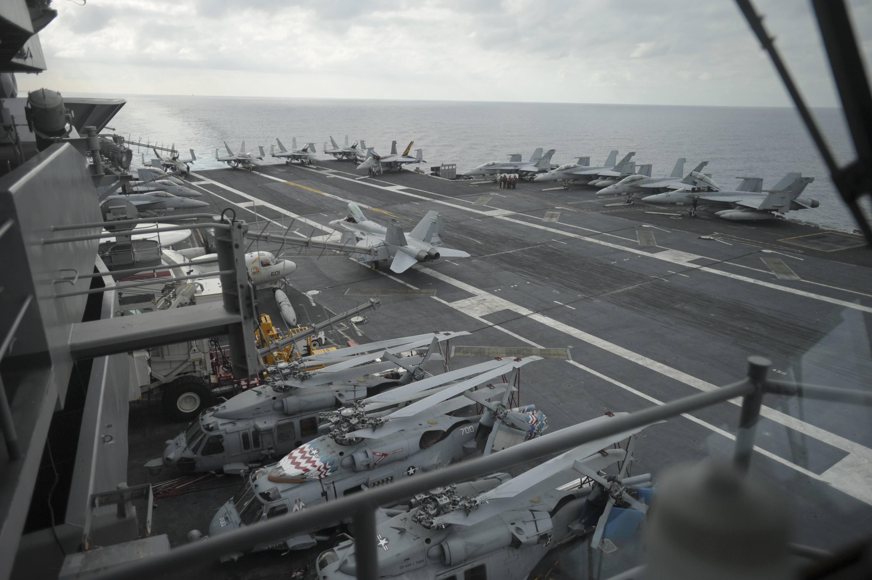 Ударна група військово-морських сил США вирушила у напрямку Корейського півострова.