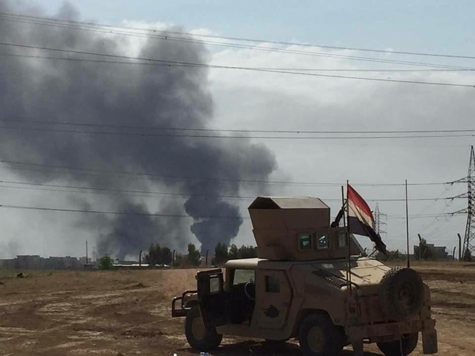 Коаліція Іраку продовжує наступ у Мосулі