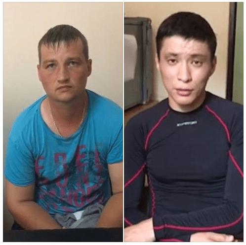 Наші прикордонники затримали двох військовослужбовців Прикордонної служби ФСБ РФ