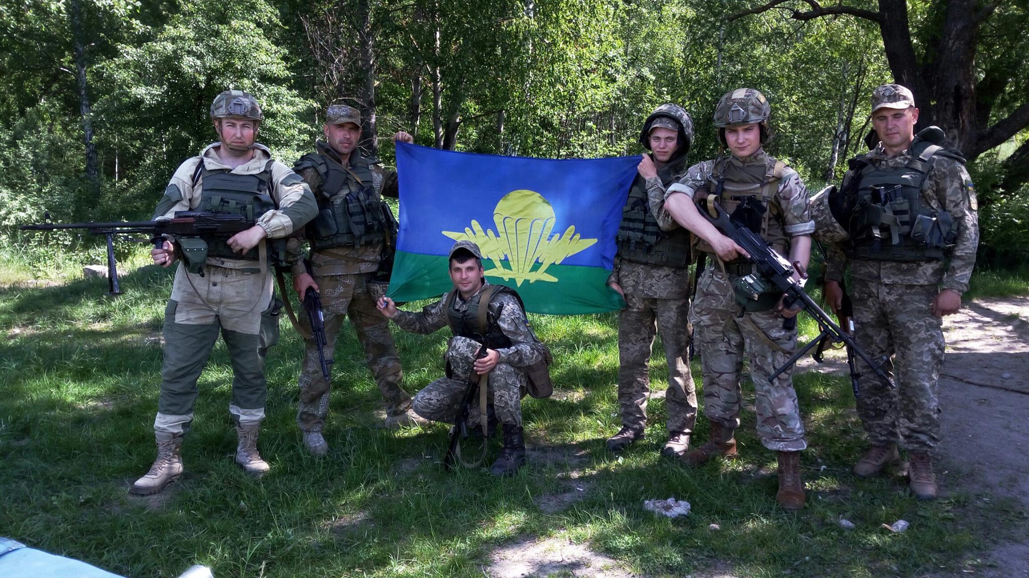 ЗВІТ. Партія ручок переносу вогню та коробів доставлена до підрозділу 95 бригади ВДВ