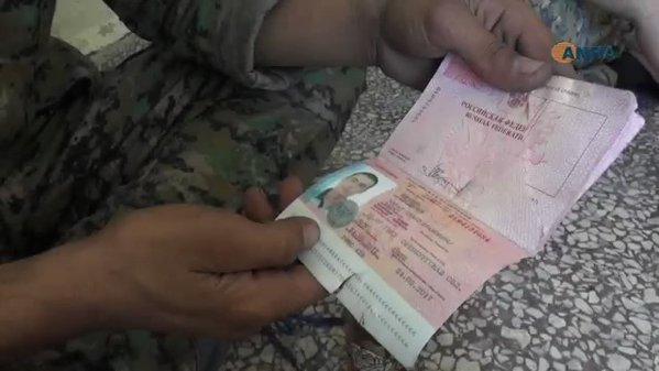 """Бійці СДА продемонстрували російські документи вбитого бойовика з """"Ісламської Держави"""""""
