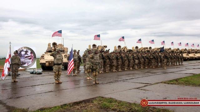 В Грузії розпочались військові навчання за участі військових НАТО