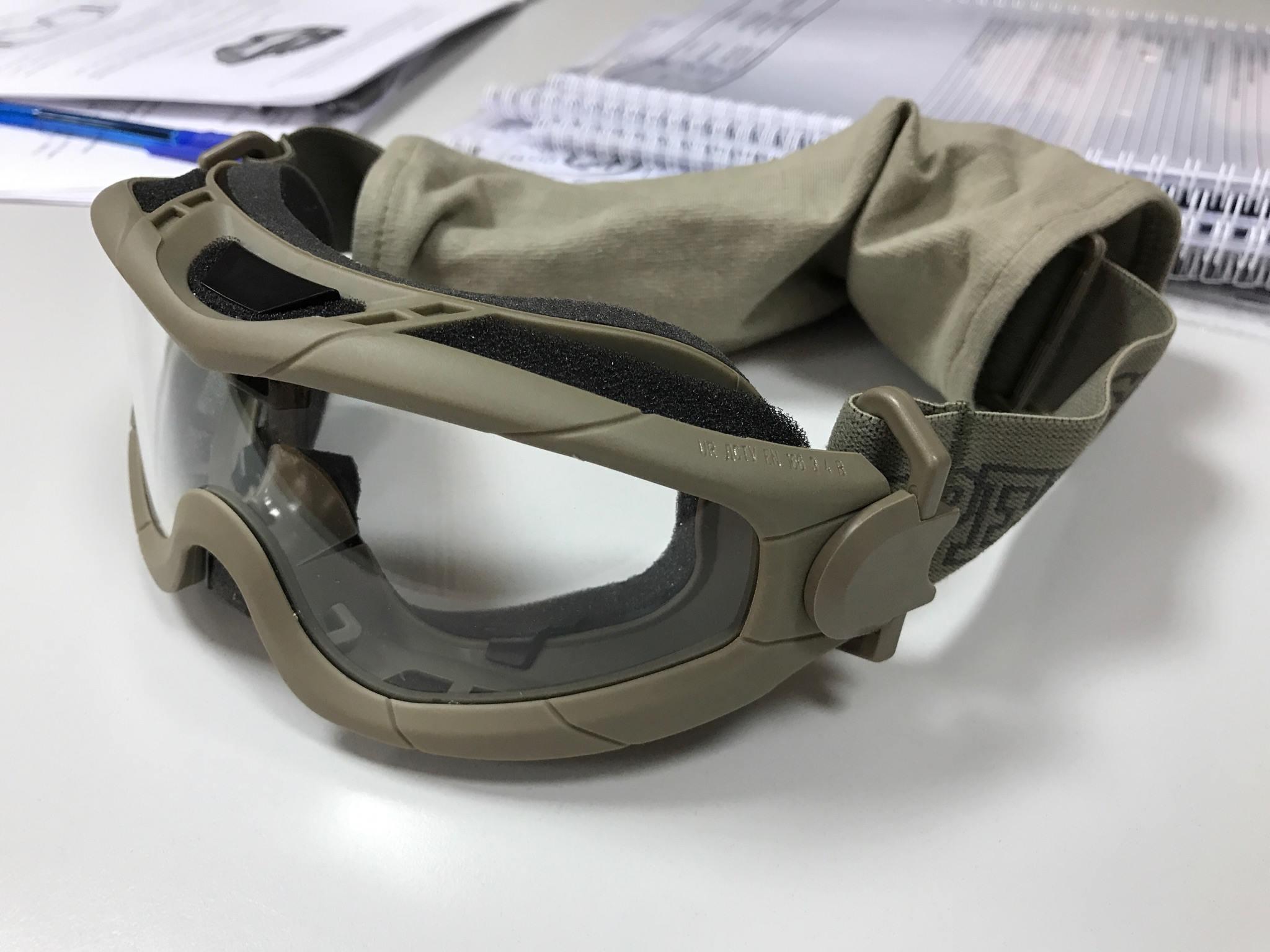 Міністерство оборони отримано першу партію балістичних масок.