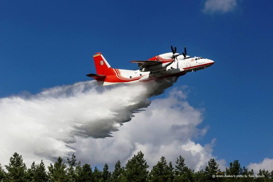 Літак ДСНС України вилітає до Чорногорії для надання допомоги у гасінні масштабних лісових пожеж