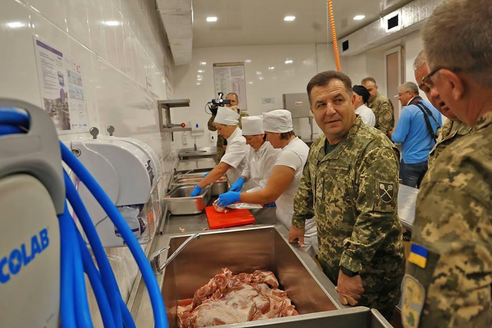 Перебіг планового переходу Збройних Сил України на нову систему харчування