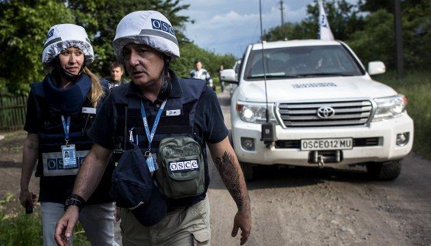 Бойовики припинили охороняти базу місії ОБСЄ У Горлівці – СЦКК