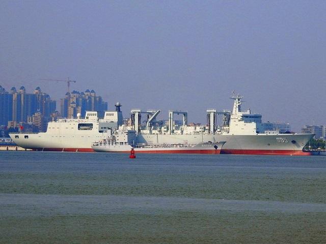 ВМС Китаю поповнились океанським судном комплексного забезпечення