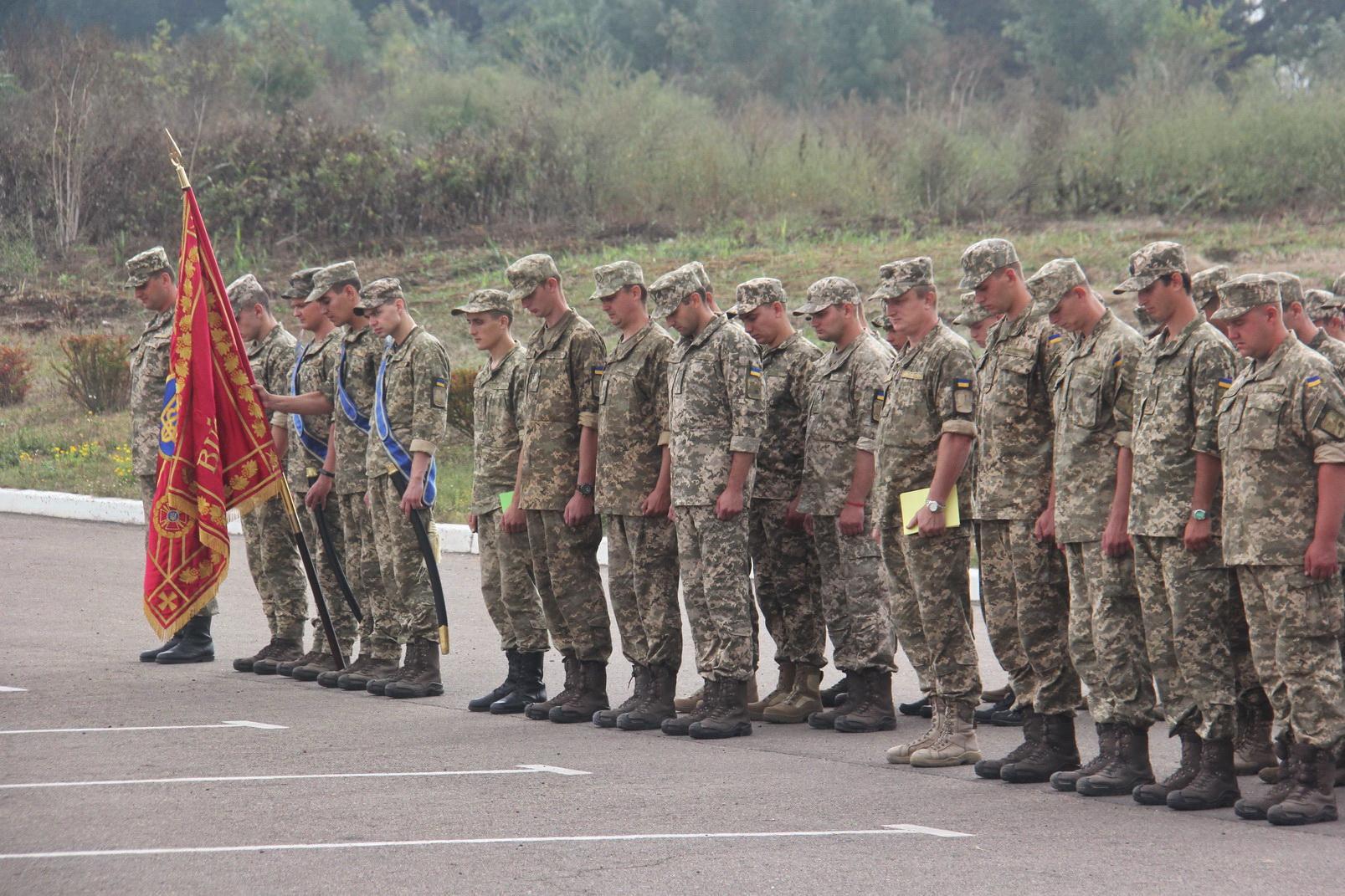 У Військовій академії в Одесі завершили курс перепідготовки офіцерів запасу