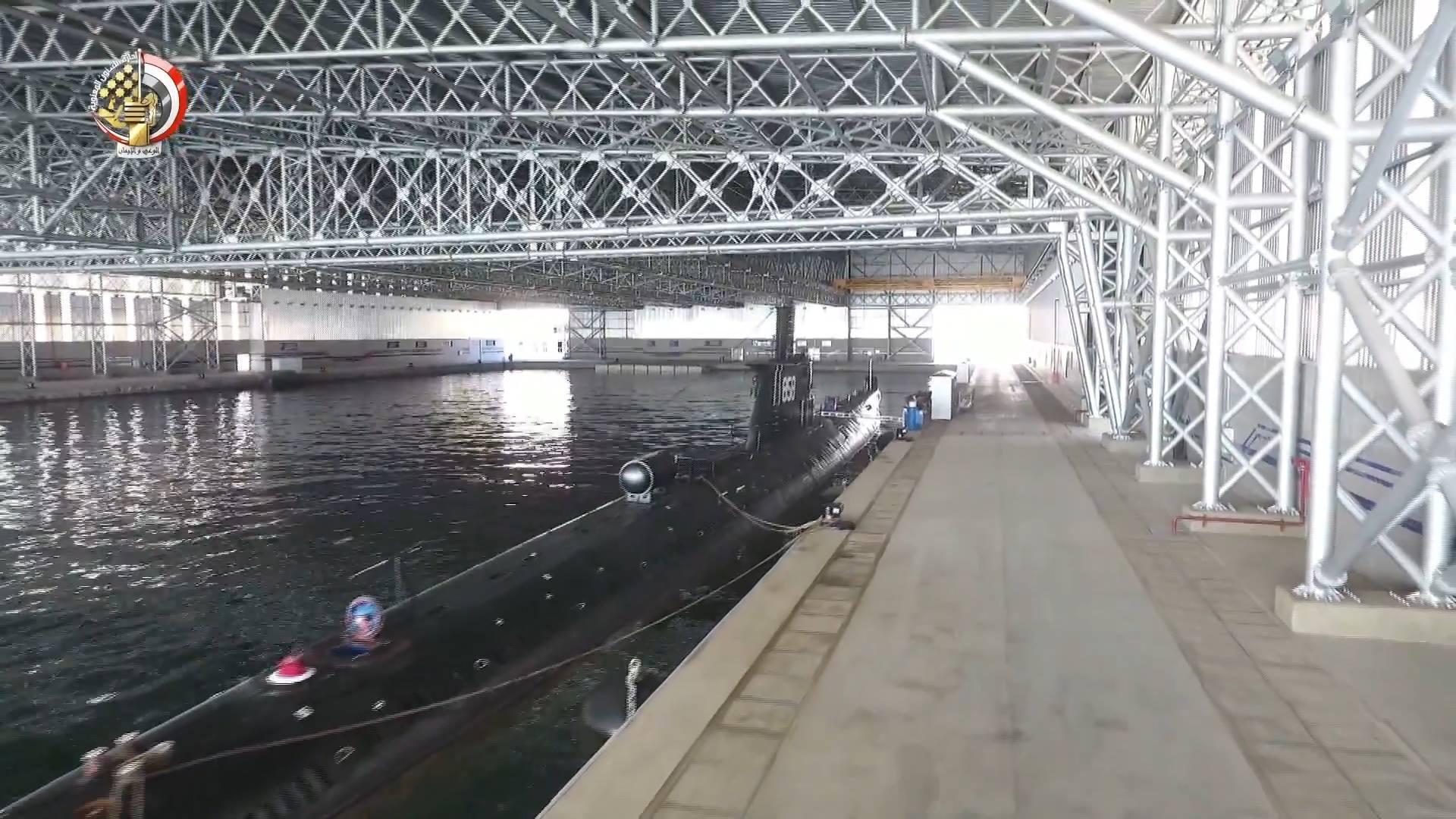 Для ВМС Єгипту побудовано найбільший елінг для підводних човнів у регіоні
