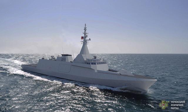 """Об'єднані Арабські Емірати отримають два корвети класу """"Gowind"""""""