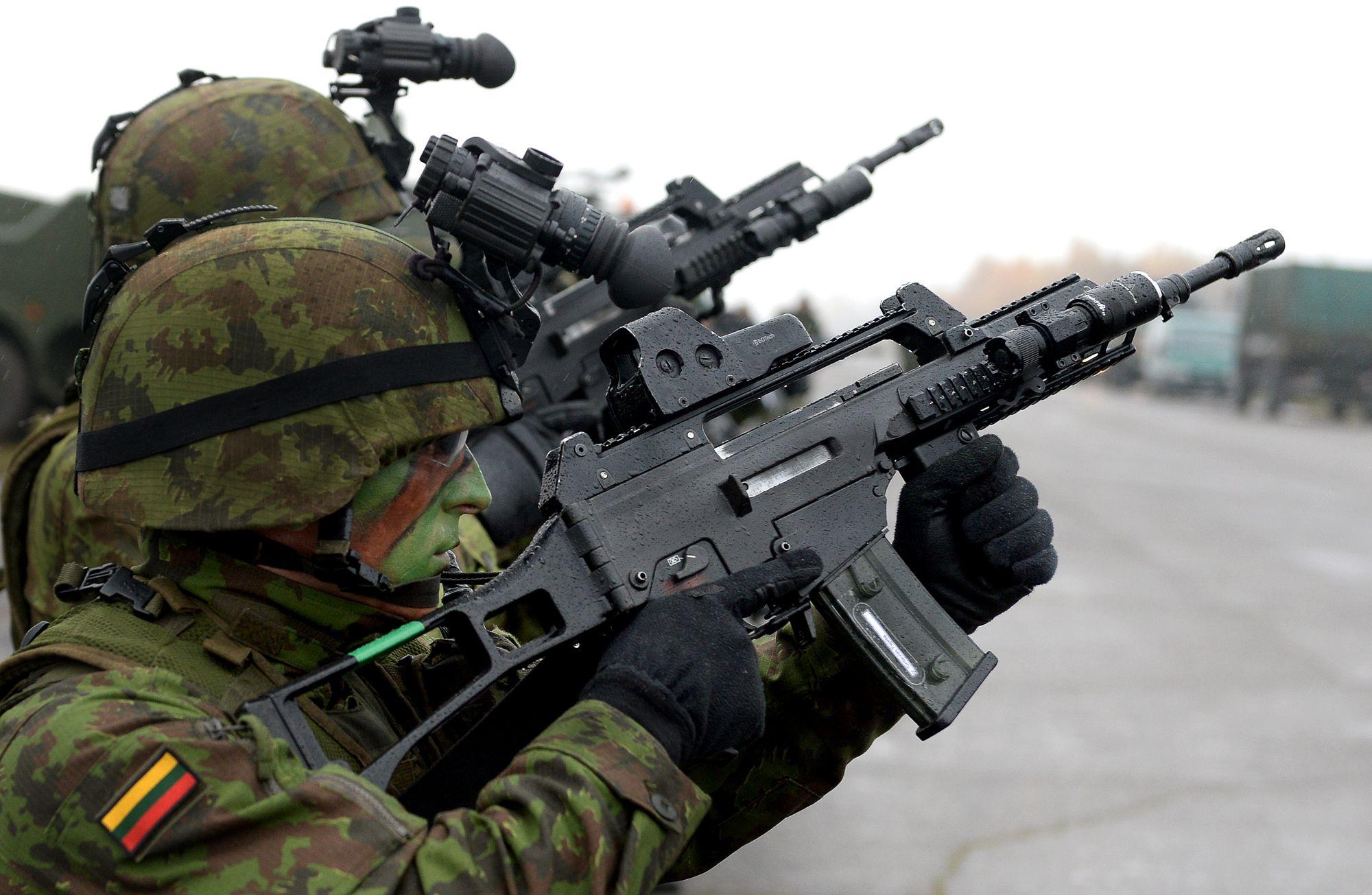 Військовий бюджет Литви на наступний рік може скласти 2 відсотків від ВВП