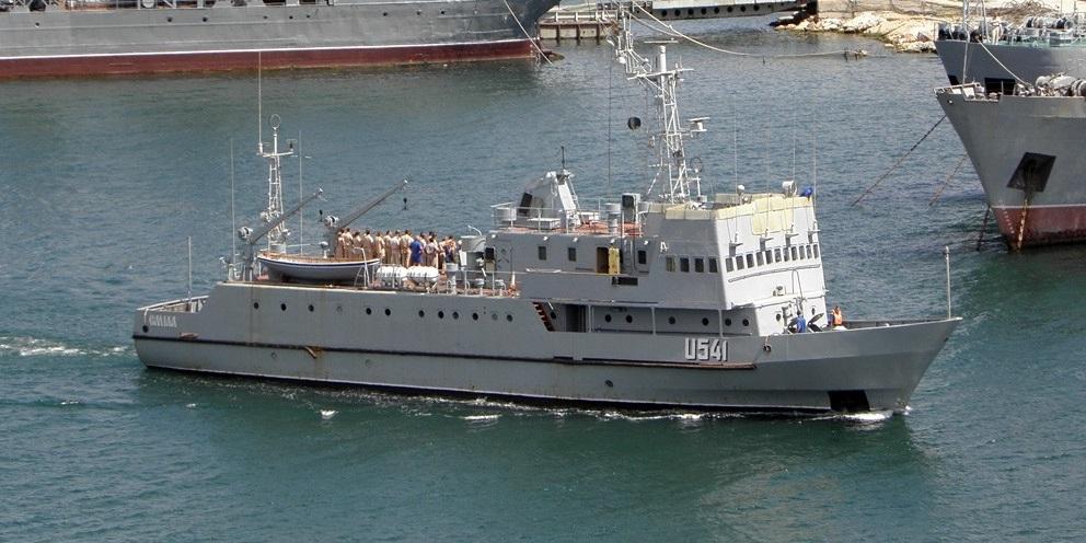 """Навчальний катер """"Сміла"""" вперше з 1998 року проходить доковий ремонт"""
