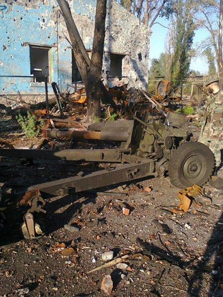 OSINT дослідник IgorGirkin опублікував знімок знищеної артилерійської системи НОНА-К окупаційного контингенту