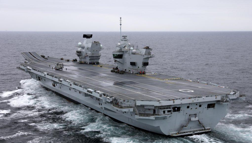 Авіаносець Queen Elizabeth Королівських ВМС Британії почав другий етап випробувань