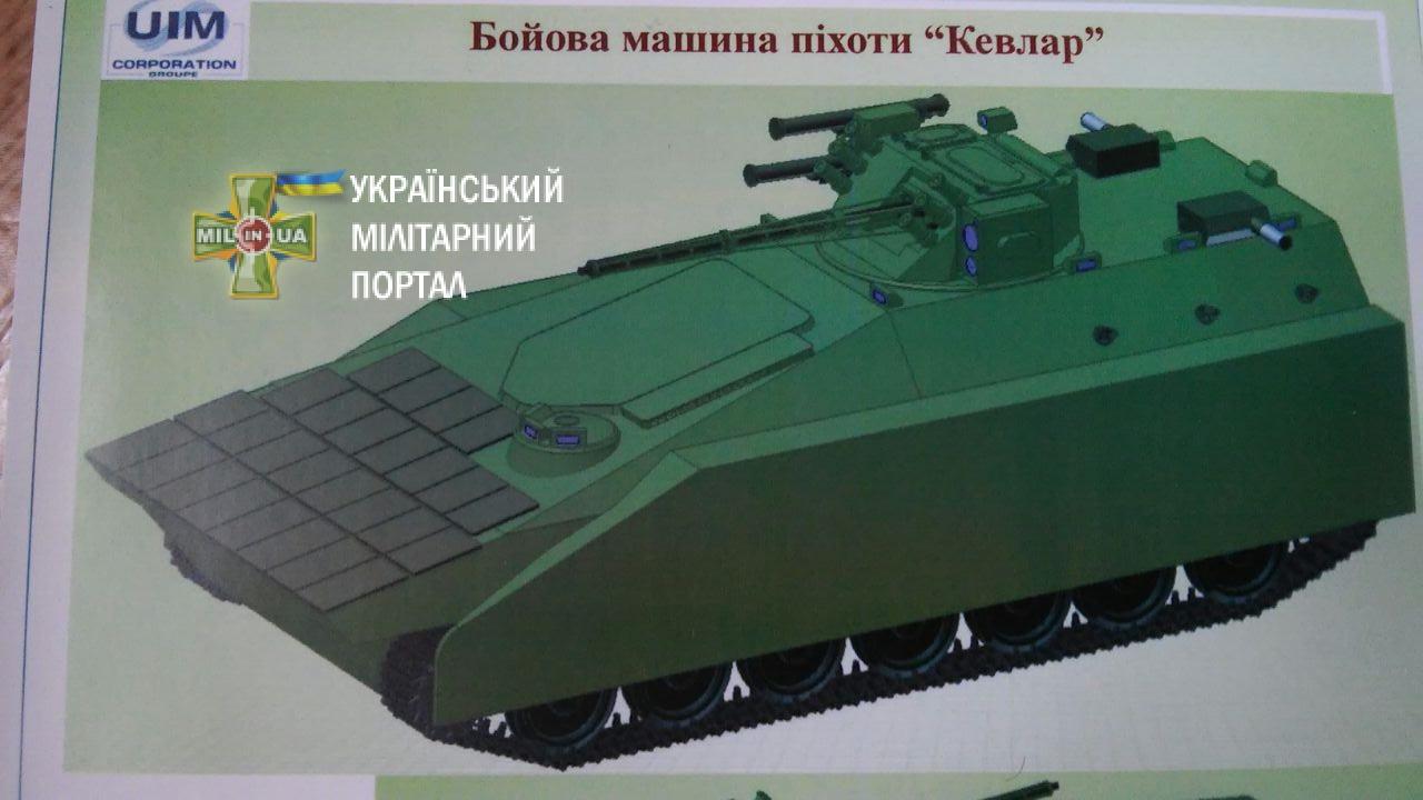 Проект  української БМП «Кевлар»