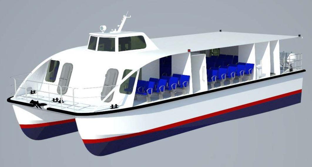 Проект річкового трамваю НУК
