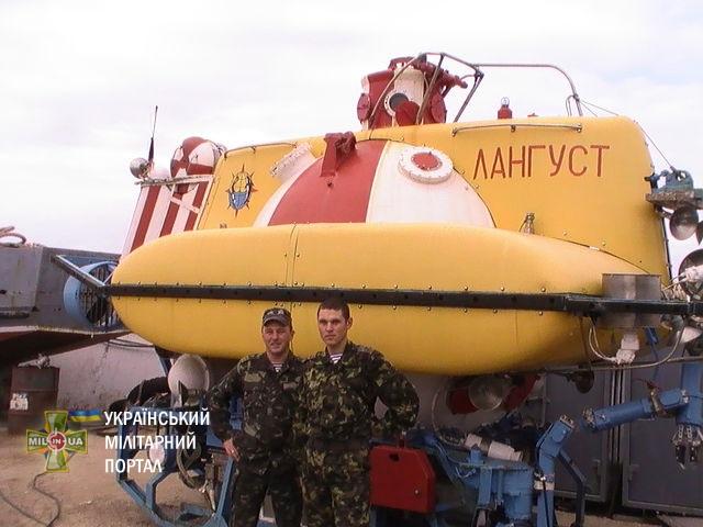 Що трапилося з українськими підводними апаратами в окупованому Криму?