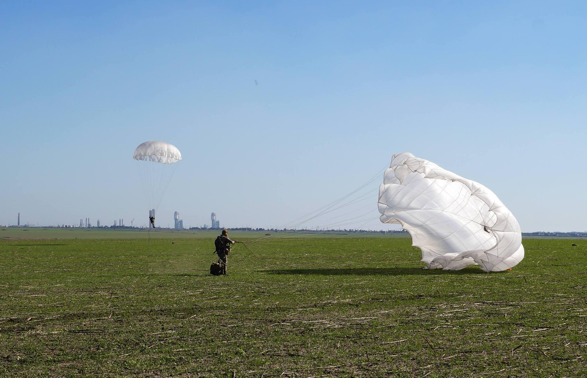 Приземлення з парашутом