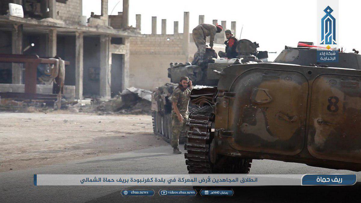 Контрнаступ революційних сил в Сирії – хроніка подій за 23 травня